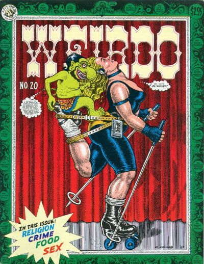 Cover for Weirdo (1981 series) #20