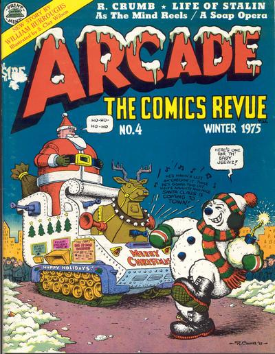 Cover for Arcade (The Print Mint Inc, 1975 series) #4