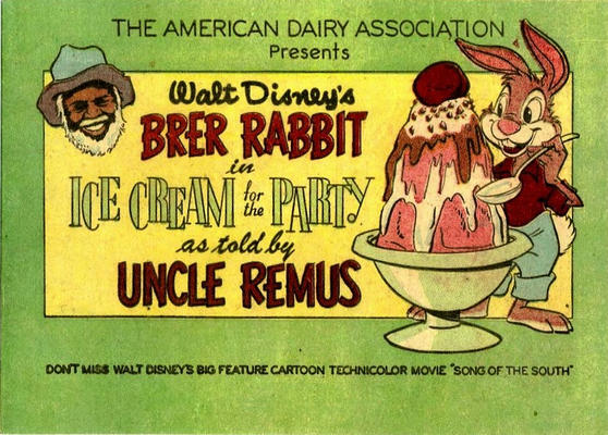 Cover for Brer Rabbit in Ice Cream for the Party (1955 series) #[nn]