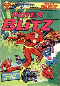 Cover Thumbnail for Roter Blitz (Egmont Ehapa, 1976 series) #40