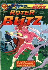 Cover Thumbnail for Roter Blitz (Egmont Ehapa, 1976 series) #12/1980
