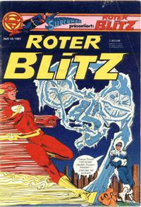 Cover Thumbnail for Roter Blitz (Egmont Ehapa, 1976 series) #10/1981