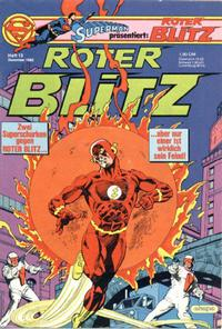 Cover Thumbnail for Roter Blitz (Egmont Ehapa, 1976 series) #13/1982