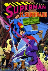 Cover Thumbnail for Superman Superband (Egmont Ehapa, 1973 series) #11