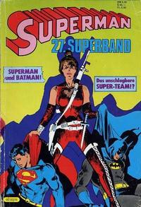 Cover for Superman Superband (Egmont Ehapa, 1973 series) #27