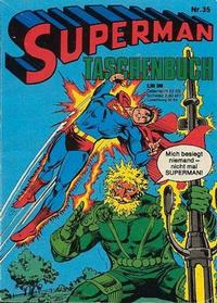 Cover Thumbnail for Superman Taschenbuch (Egmont Ehapa, 1976 series) #35