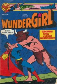 Cover Thumbnail for Wundergirl (Egmont Ehapa, 1976 series) #9/1981