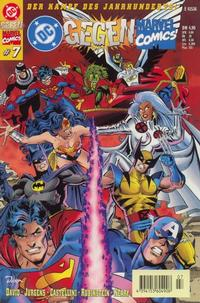Cover Thumbnail for DC gegen Marvel Comics (Dino Verlag, 1996 series) #7