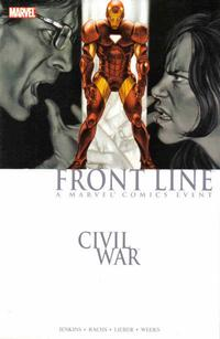 Cover for Civil War: Front Line (2007 series) #2