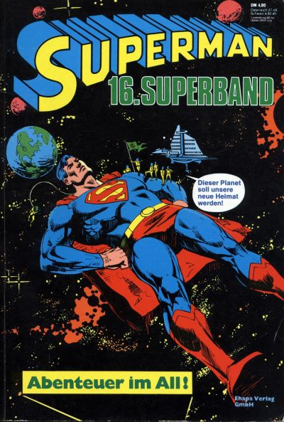 Cover for Superman Superband (Egmont Ehapa, 1973 series) #16