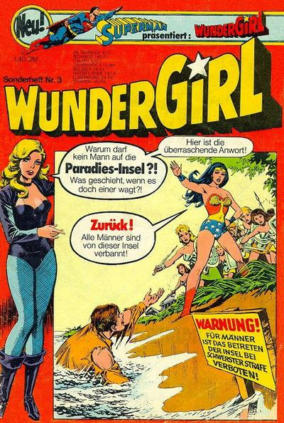 Cover for Wundergirl (1976 series) #3