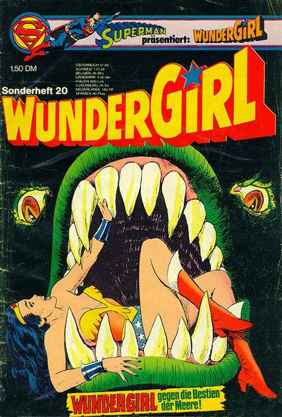Cover for Wundergirl (Egmont Ehapa, 1976 series) #20