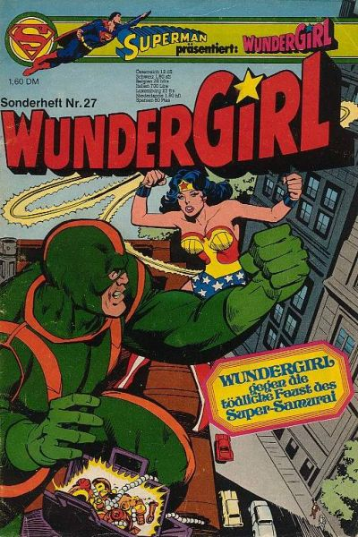 Cover for Wundergirl (Egmont Ehapa, 1976 series) #27