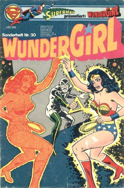 Cover for Wundergirl (Egmont Ehapa, 1976 series) #30