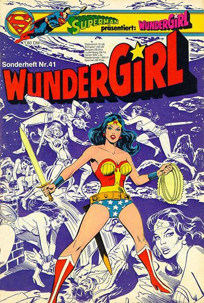 Cover for Wundergirl (Egmont Ehapa, 1976 series) #41