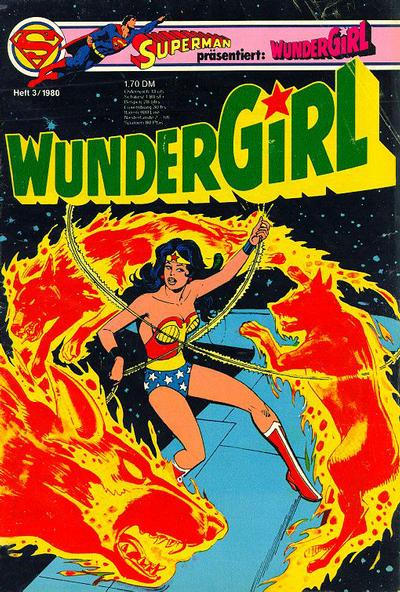 Cover for Wundergirl (1976 series) #3/1980