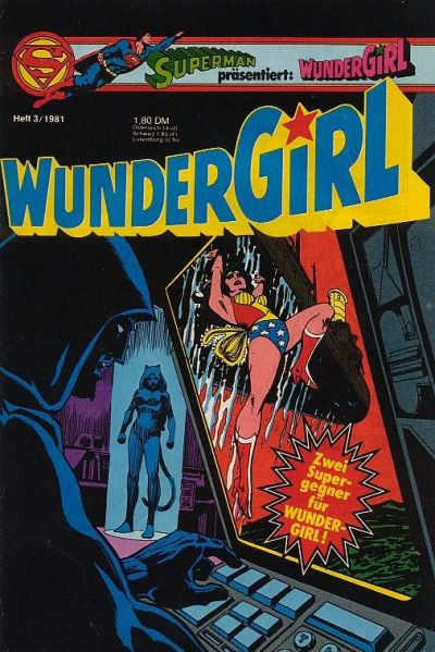 Cover for Wundergirl (Egmont Ehapa, 1976 series) #3/1981