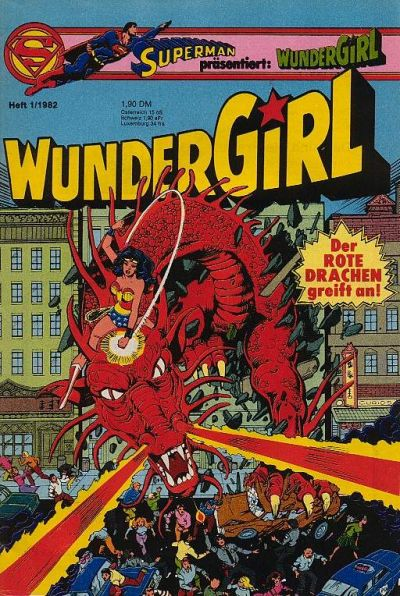 Cover for Wundergirl (Egmont Ehapa, 1976 series) #1/1982