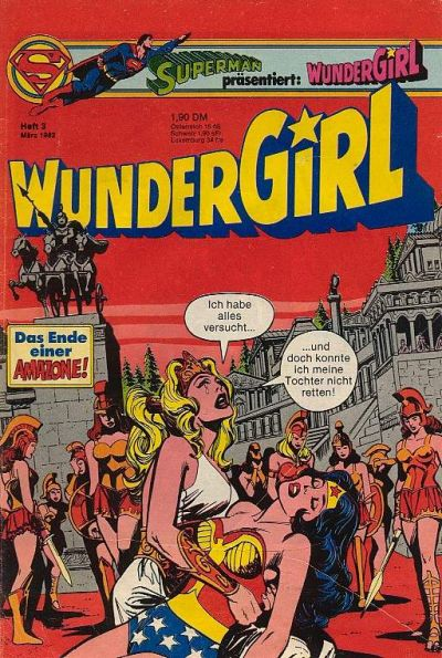 Cover for Wundergirl (Egmont Ehapa, 1976 series) #3/1982