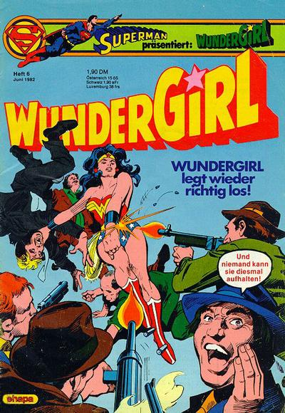 Cover for Wundergirl (Egmont Ehapa, 1976 series) #6/1982