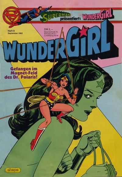 Cover for Wundergirl (Egmont Ehapa, 1976 series) #9/1983