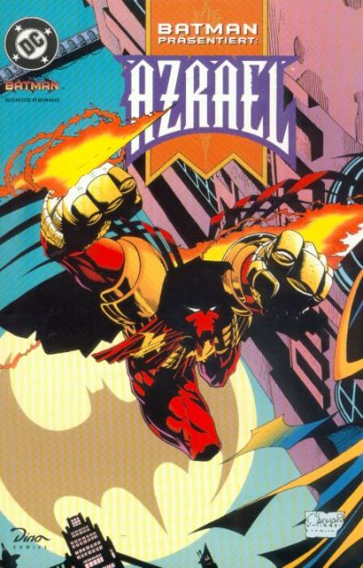 Cover for Batman Sonderband (Dino Verlag, 1997 series) #2 - Azrael