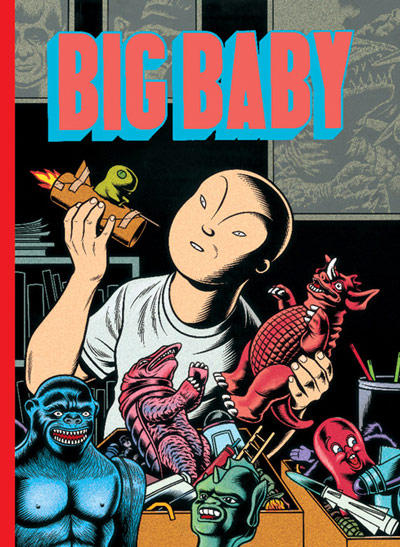 Cover for Big Baby (Fantagraphics, 1999 series) #[nn]