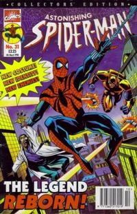 Cover Thumbnail for The Astonishing Spider-Man (Panini UK, 1995 series) #31