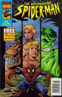 Cover Thumbnail for The Astonishing Spider-Man (Panini UK, 1995 series) #63