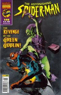 Cover Thumbnail for The Astonishing Spider-Man (Panini UK, 1995 series) #108