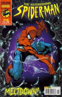 Cover Thumbnail for The Astonishing Spider-Man (Panini UK, 1995 series) #116