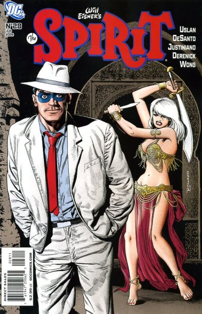 Cover for The Spirit (DC, 2007 series) #28