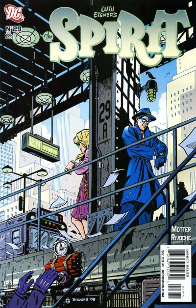 Cover for The Spirit (2007 series) #29