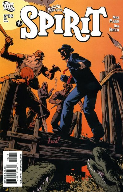Cover for The Spirit (DC, 2007 series) #32