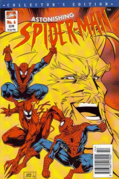 Cover for The Astonishing Spider-Man (1995 series) #6