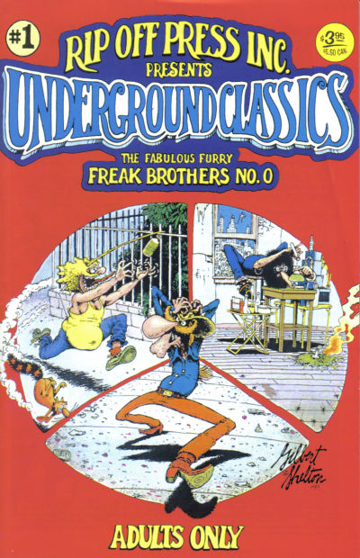 Cover for Underground Classics (1985 series) #1
