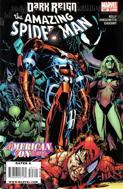 Cover for The Amazing Spider-Man (1999 series) #597