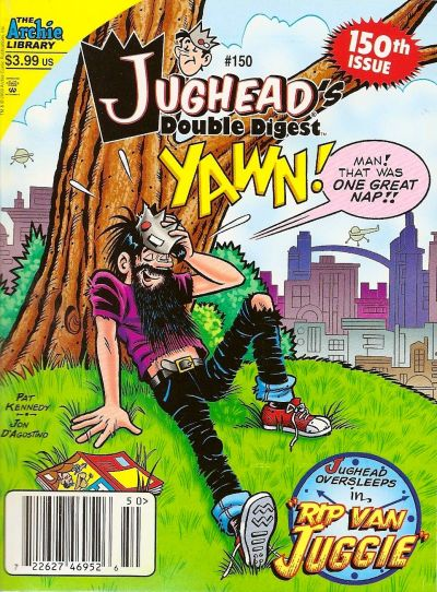 Cover for Jughead's Double Digest (Archie, 1989 series) #150