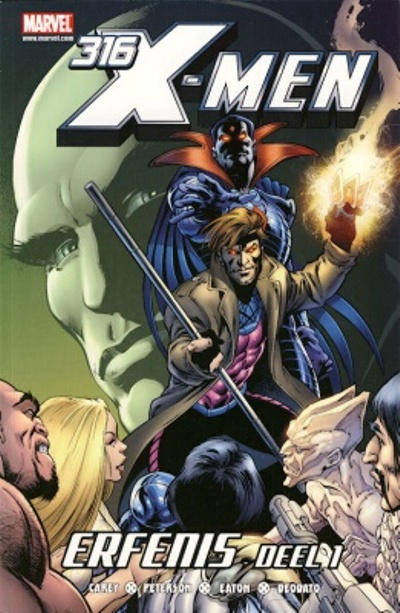 Cover for X-Men (Z-Press Junior Media, 2007 series) #316