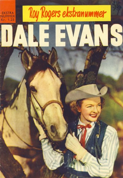 Cover for Roy Rogers ekstranummer Dale Evans (1957 series) #[1958]