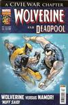 Cover for Wolverine and Deadpool (Panini UK, 2004 series) #163