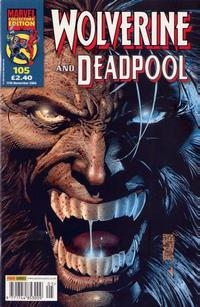 Cover Thumbnail for Wolverine and Deadpool (Panini UK, 2004 series) #105