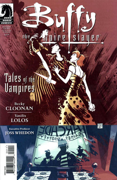 Cover for Buffy the Vampire Slayer: Tales of the Vampires  (2009 series) #1