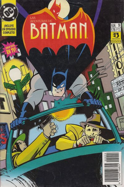 Cover for Aventuras de Batman (1993 series) #9