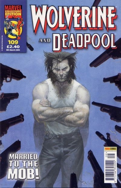 Cover for Wolverine and Deadpool (Panini UK, 2004 series) #109