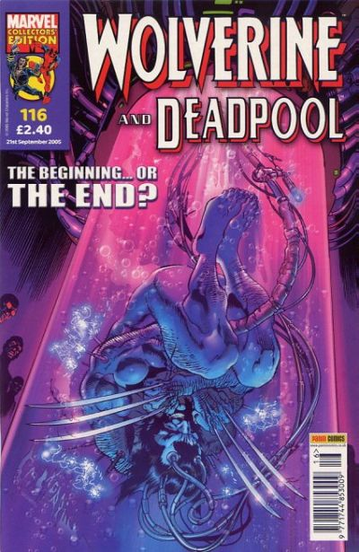 Cover for Wolverine and Deadpool (Panini UK, 2004 series) #116