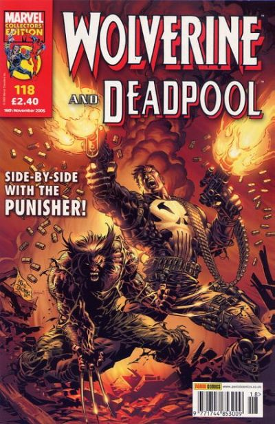 Cover for Wolverine and Deadpool (Panini UK, 2004 series) #118