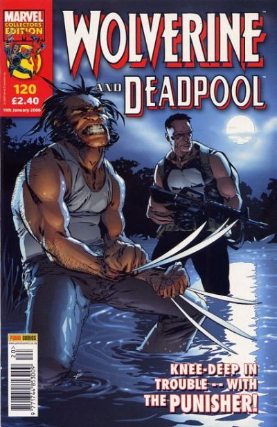 Cover for Wolverine and Deadpool (Panini UK, 2004 series) #120
