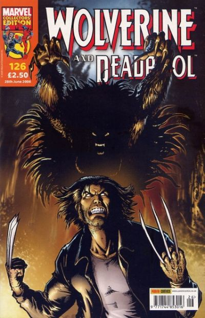 Cover for Wolverine and Deadpool (Panini UK, 2004 series) #126