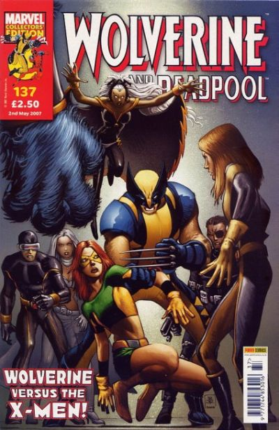 Cover for Wolverine and Deadpool (Panini UK, 2004 series) #137
